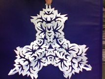 HS Snowflake triangle