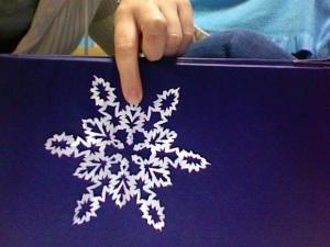 HS Snowflake medium sized