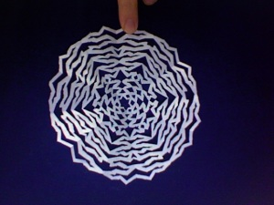 HS Snowflake circular