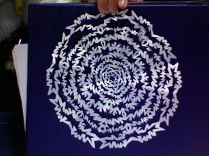 HS Snowflake spikey circular